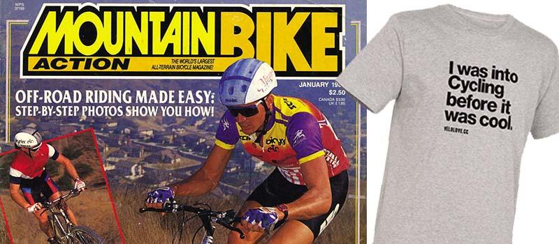 Die Januarie 1988 voorblad van Mountain Bike Action tydskrif.