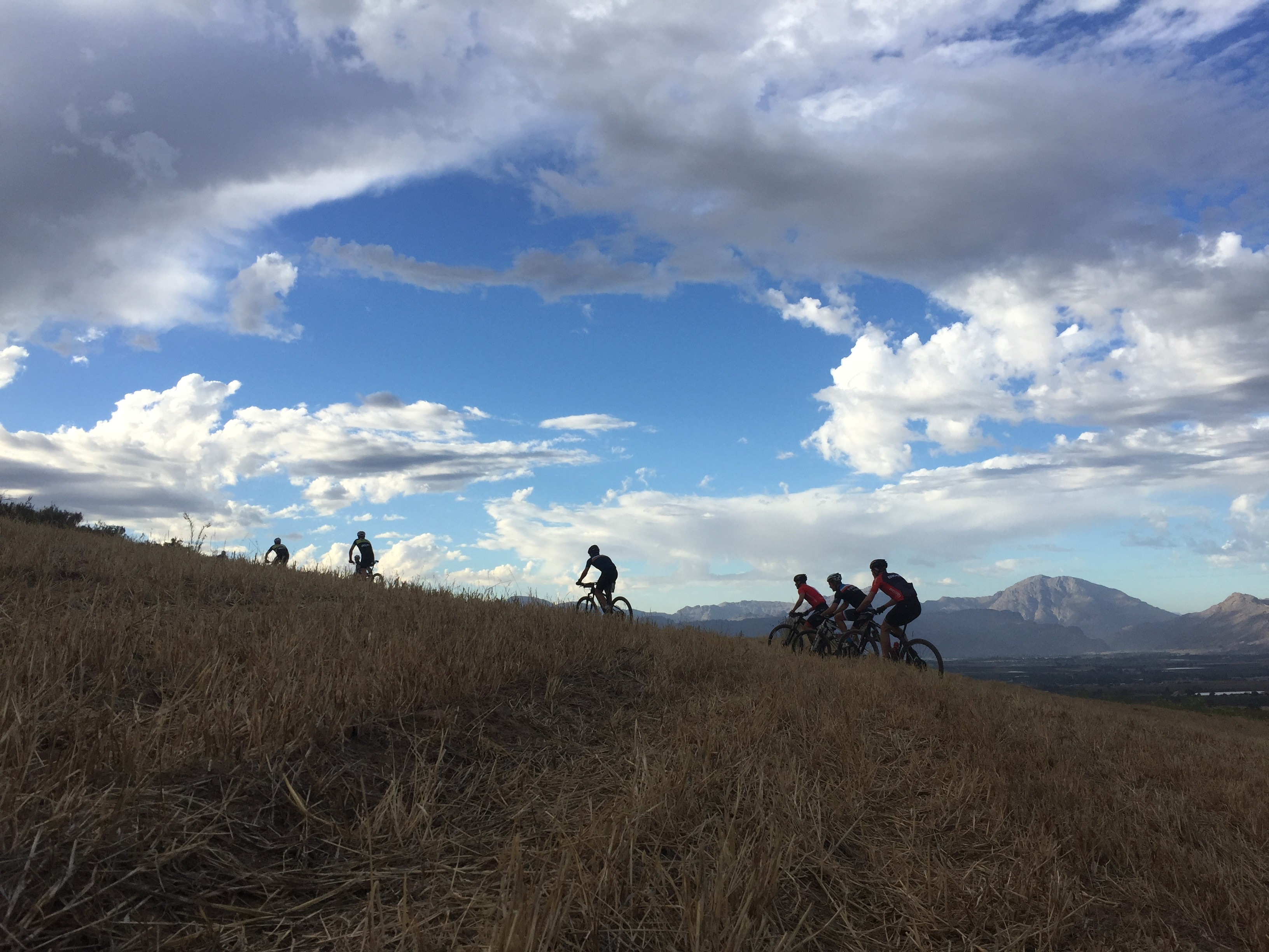 BELOW: Beautiful scenery is what mountain biking is all about.